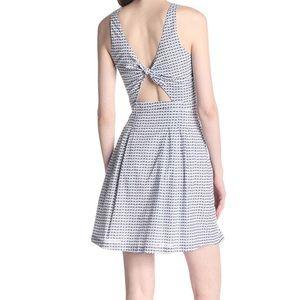 Joie Nielah Viole tie back dress